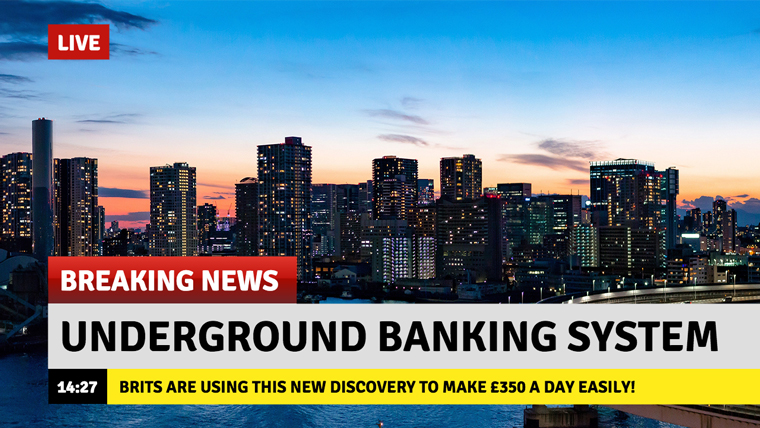 SHAKEN Government: Discovery of NEW Underground Banking System That Can Make YOU Rich In Just 7 Days! (Seriously)